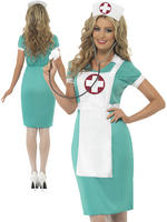 Ladies Scrub Nurse Costume