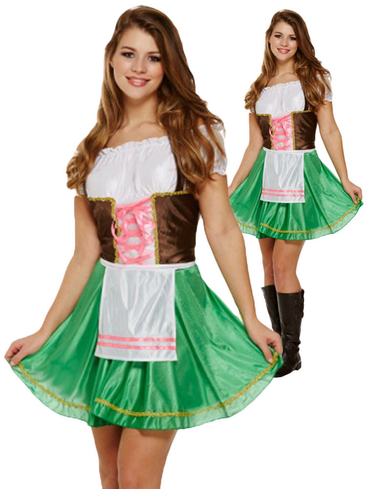 Ladies Bavarian Lady Costume