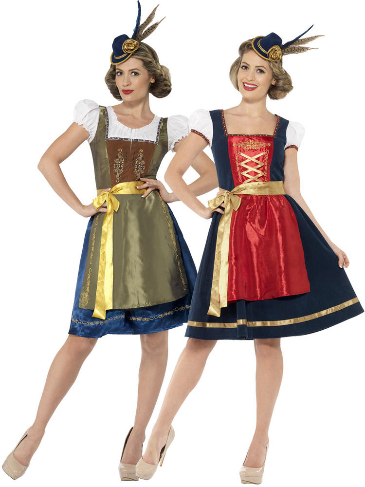 Ladies Deluxe Bavarian Costume
