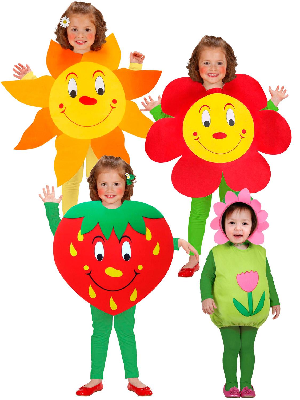 Childs Toddler Sun Flower Strawberry Tabard Girl Boy