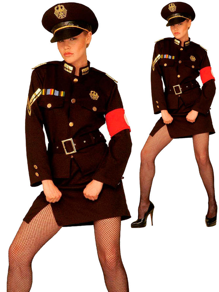 Ladies Marlene Officer Costume