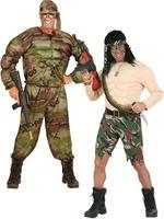 Men's Super Muscle Soldier Costume