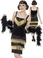 Girl's Teen Flapper Girl Costume