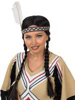 Ladies Indian Squaw Wig