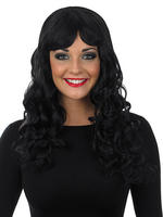 Ladies Black Temptress Wig