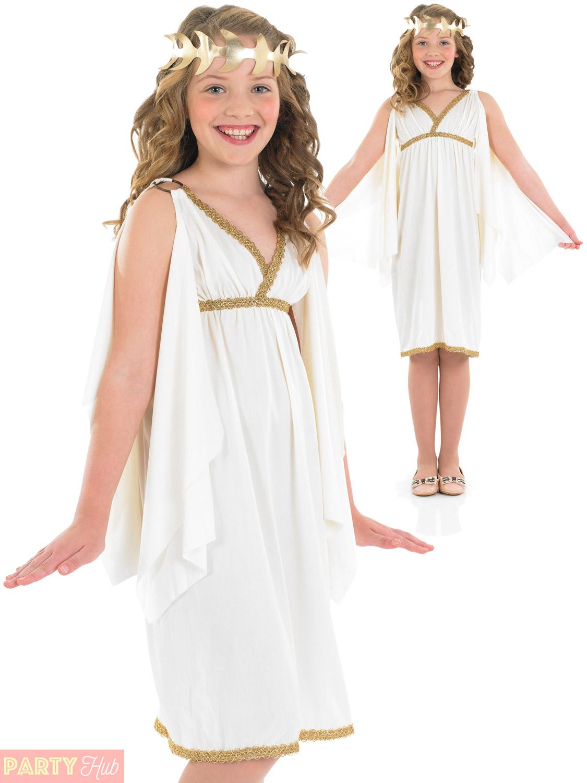 Girls Cleopatra Costume Childs Egyptian Queen Fancy Dress ...