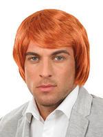Men's Ginger Boy Band Wig