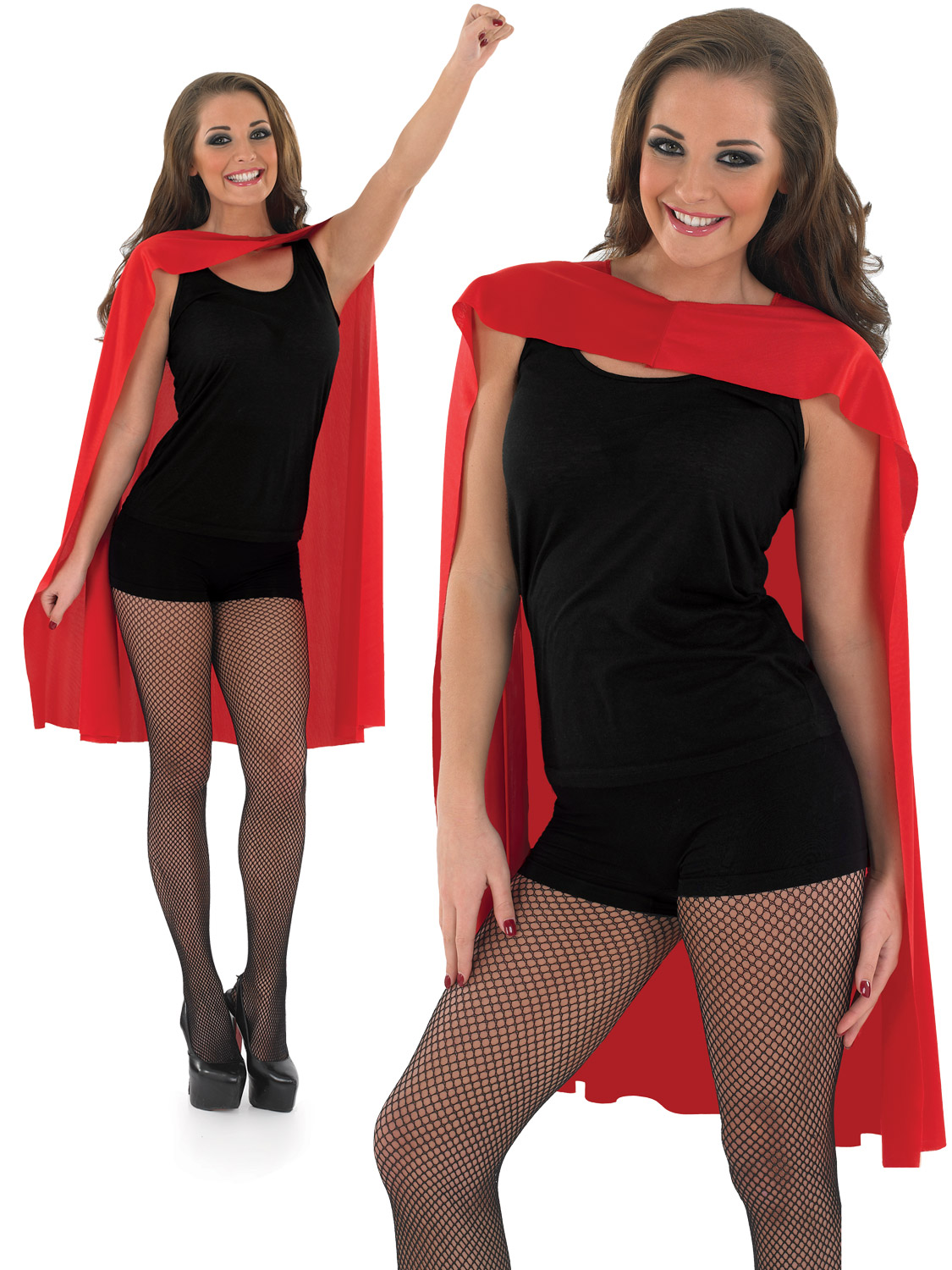 Adults Red Superhero Cape