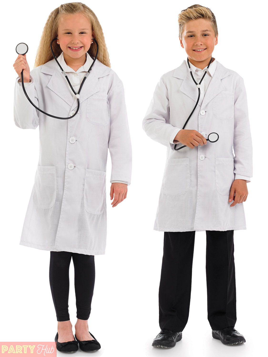 Childs Doctor Costume Boys Girls Hospital Surgeon Fancy Dress Book Week Outfit | eBay