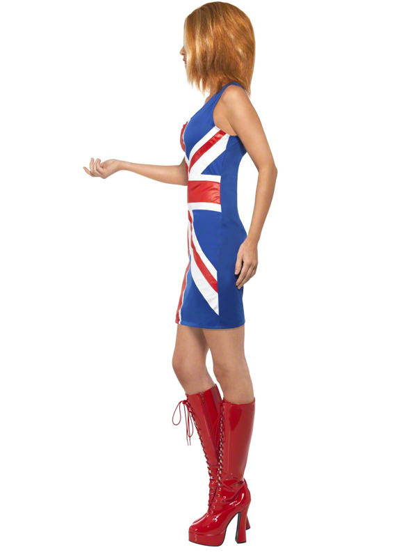 Ginger Spice?   Halloween ideas...   Pinterest  Ginger Spice British Dress
