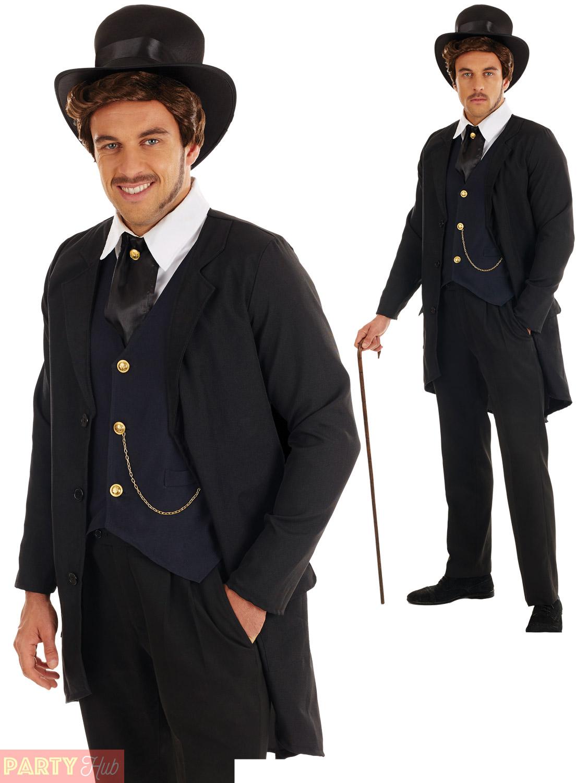 adultos disfraz victoriano hombre para hombre historia