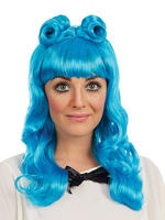 Ladies Blue Cosplay Wig