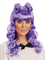 Ladies Purple  Cosplay Wig