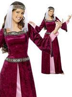Ladies Maid Marion Costume