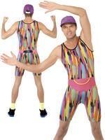 Men's Aerobics Instructor Costume