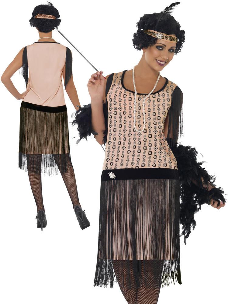 Ladies 1920's Coco Flapper Costume
