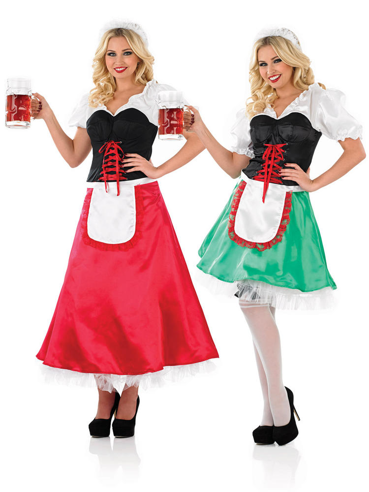 Ladies Sexy Bavarian Girl Costume