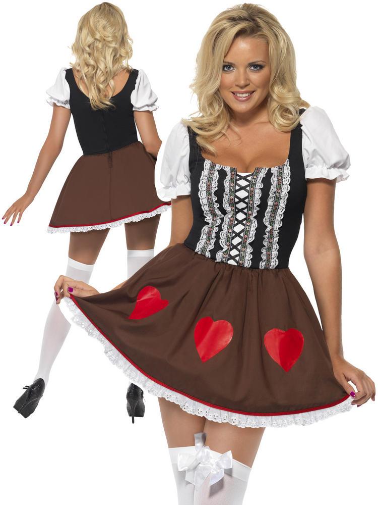 Ladies Oktoberfest Heidi Costume