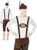 Mens Bavarian Second Skin & Hat