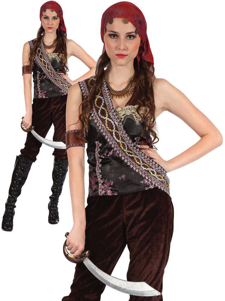 Ladies Pirate Gypsy Lady Costume