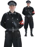 Men German Gestapo Officer Costume