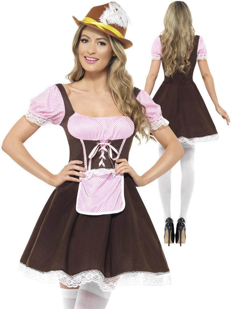 Ladies Tavern Girl Costume