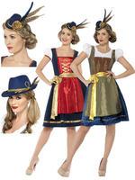 Ladies Deluxe Bavarian Costume & Hat
