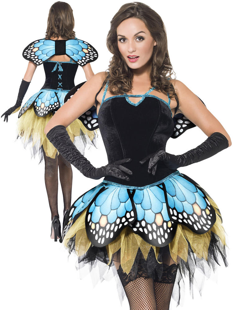 Ladies Fever Butterfly Costume