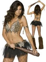 Ladies Fever Cave Babe Costume