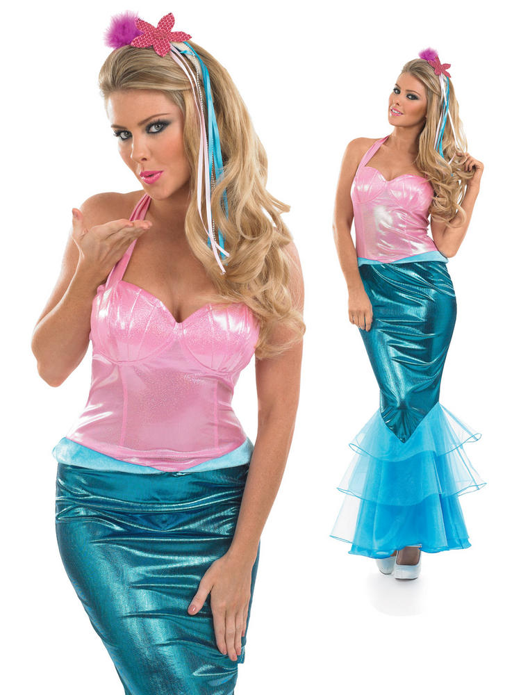 Ladies Mermaid Costume