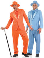 Men's Orange or Blue Suit