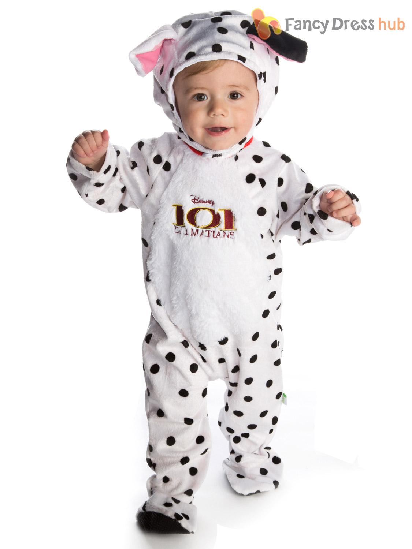 Disney-Baby-101-Dalmatians-Romper-Hood-Dalmations-Toddler-  sc 1 st  eBay & Disney Baby 101 Dalmatians Romper + Hood Dalmations Toddler Fancy ...