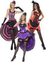 Ladies Burlesque Beauty Costume