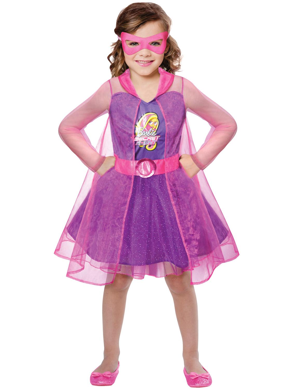 Girls Barbie Princess Costume Pink Superhero Spy Halloween  sc 1 st  Meningrey & Spy Halloween Costumes For Girls - Meningrey