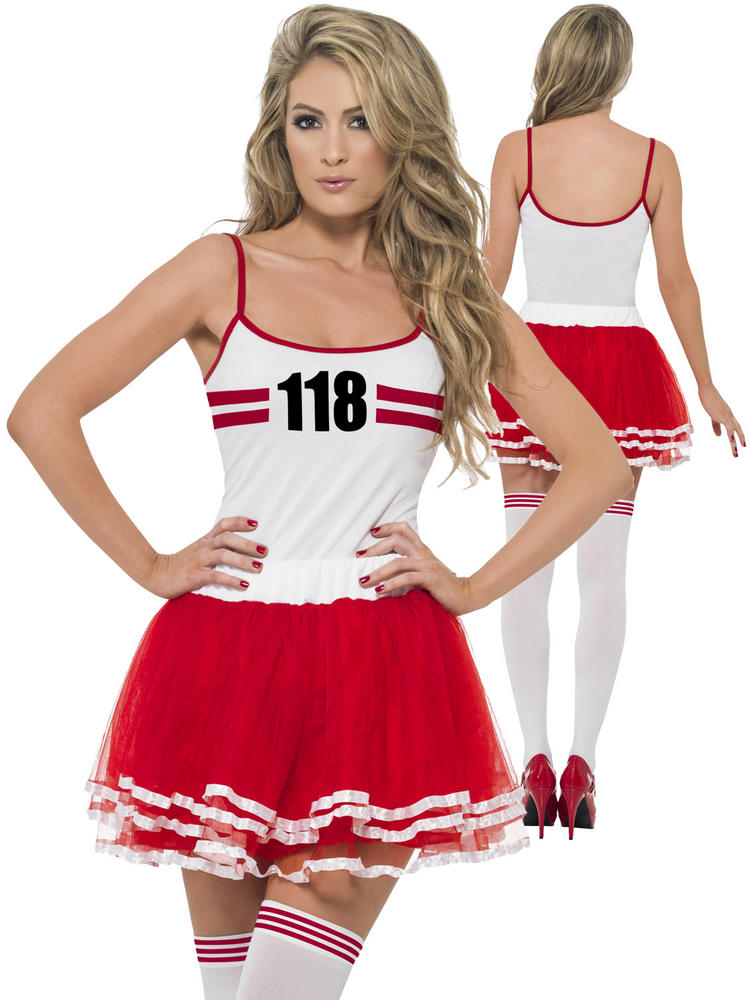Ladies 118 Marathon Runner Costume