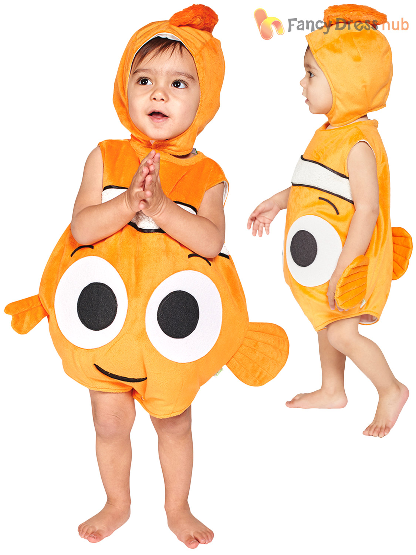 Baby-Toddler-Disney-Finding-Nemo-Dory-Fancy-Dress-  sc 1 st  eBay & Baby Toddler Disney Finding Nemo Dory Fancy Dress Costume Kids ...