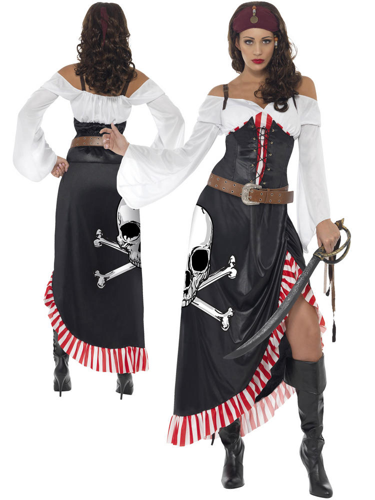 Ladies Sultry Swashbuckler Costume
