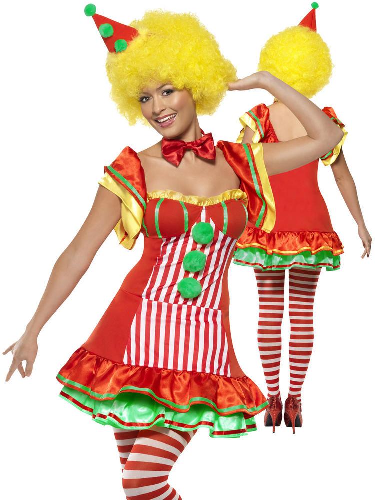 Ladies Boo Boo The Clown Costume