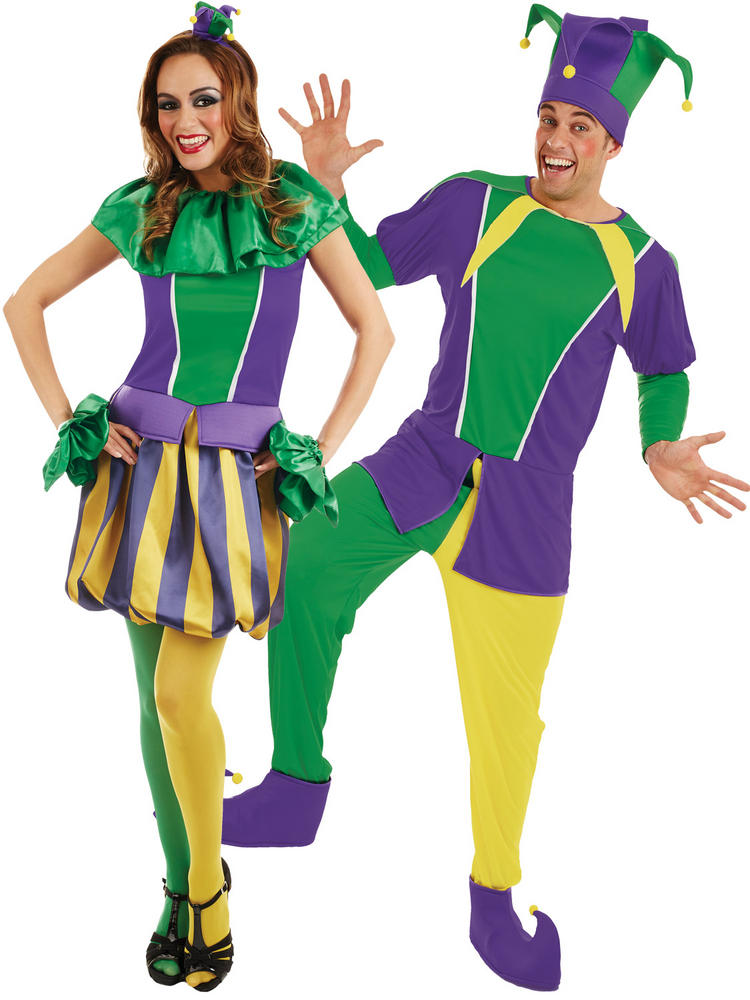 Adults Carnival Jester Costume