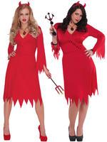 Ladies Red Hot Devil Costume