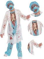 Boy's Teen Zombie Surgeon Costume