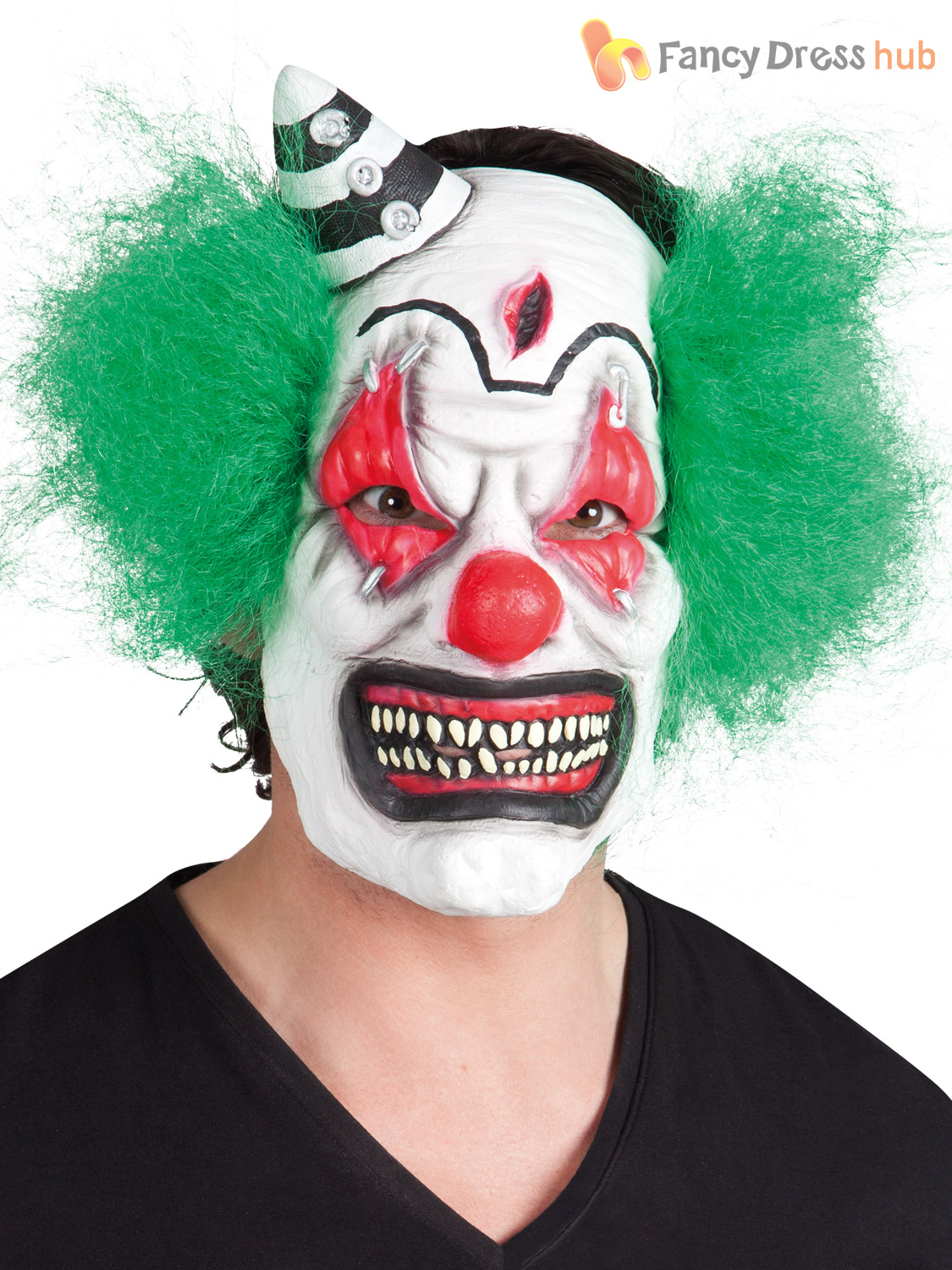 how to make a scary clown mask
