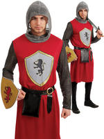 Men's Kings Knight Costume
