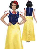 Ladies Princess Snow Costume