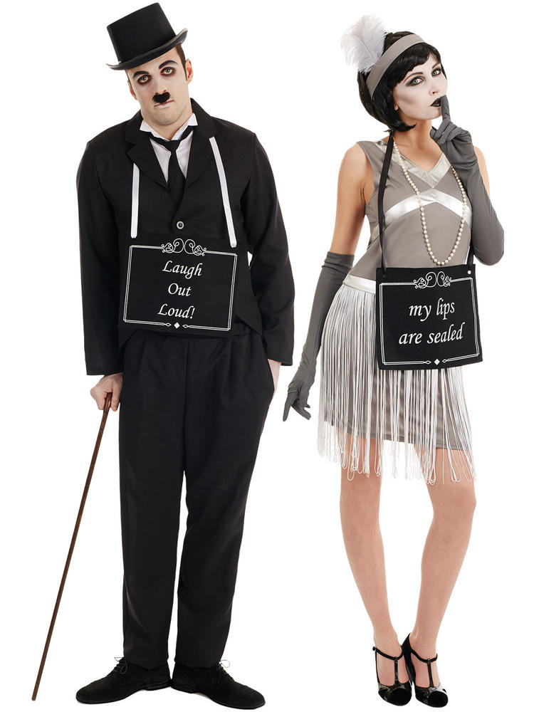 Adults Silent Film Costume