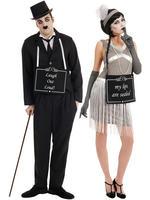 Adults Silent Film Costume