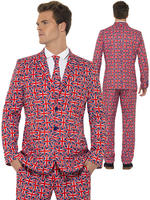 Adult's Union Jack Stand Out Suit
