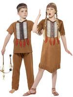 Kids Native Indian Costume