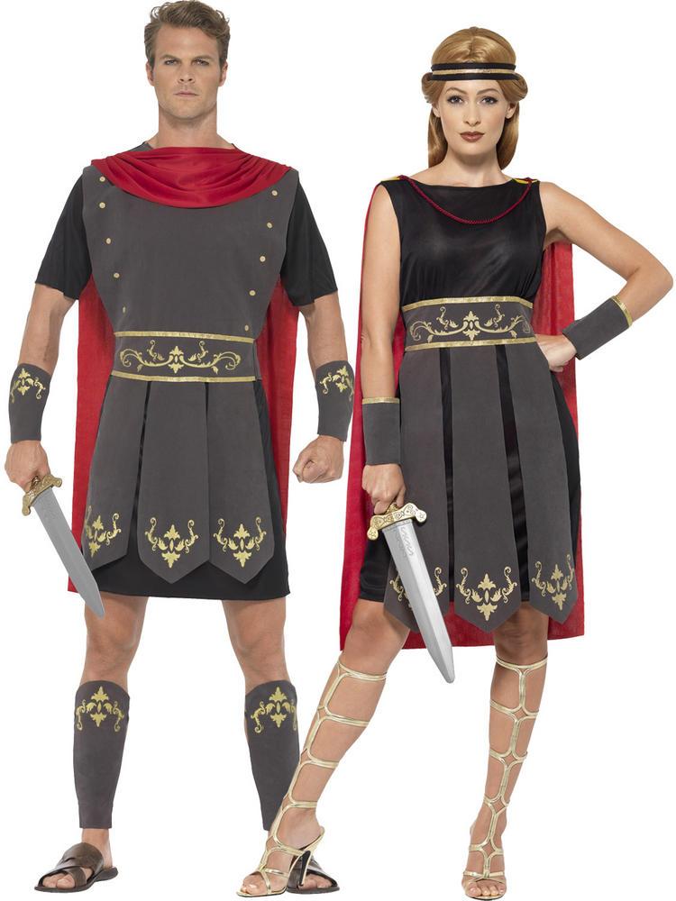 Adults Roman Gladiator Warrior Costume