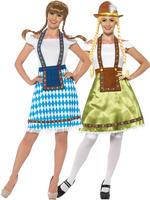 Ladies Bavarian Maid Costume